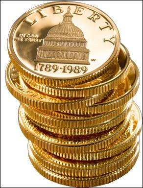 """Trois pièces de monnaie sont jetées en même temps. Quelle est la probabilité de les obtenir toutes sur le côté """"pile"""" ?"""