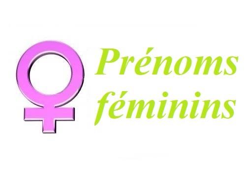 Des prénoms féminins en images