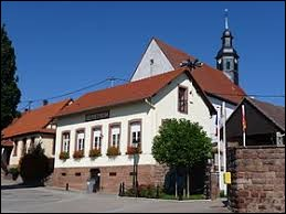 Village Bas-Rhinois, Berstheim se situe en région ...