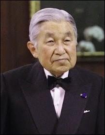 Akihito est un ancien empereur du Japon.