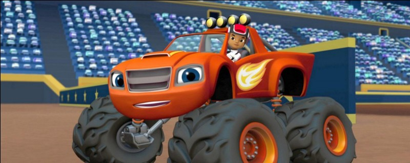 "Sur ""Nickelodeon Junior"" on peut regarder ""Blaze et les Monster Machines""."