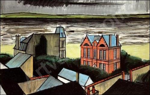 """Qui a peint """"La maison rose à Trouville"""" ?"""