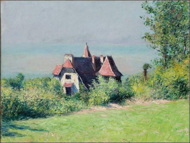 """Qui a peint """"Une villa à Trouville"""" ?"""
