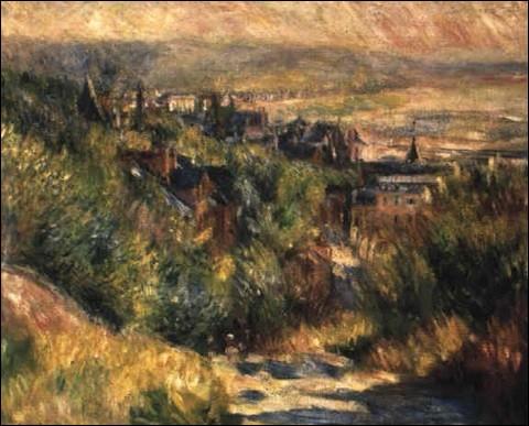 """Qui a peint """"Les hauteurs de Trouville"""" ?"""