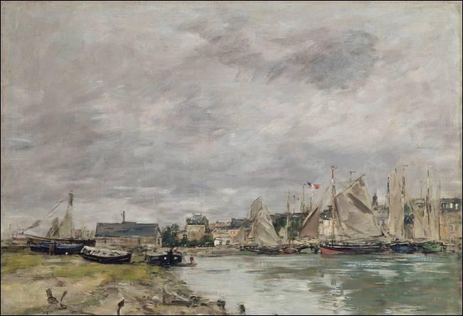 """Qui a peint """"Port de Trouville"""" ?"""