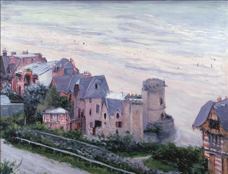 """Qui a peint """"Villas à Trouville"""" ?"""