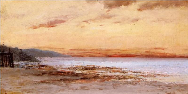 """Qui a peint """"La plage de Trouville"""" ?"""