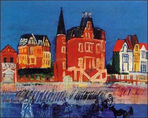 """Qui a peint """"Maisons à Trouville"""" ?"""
