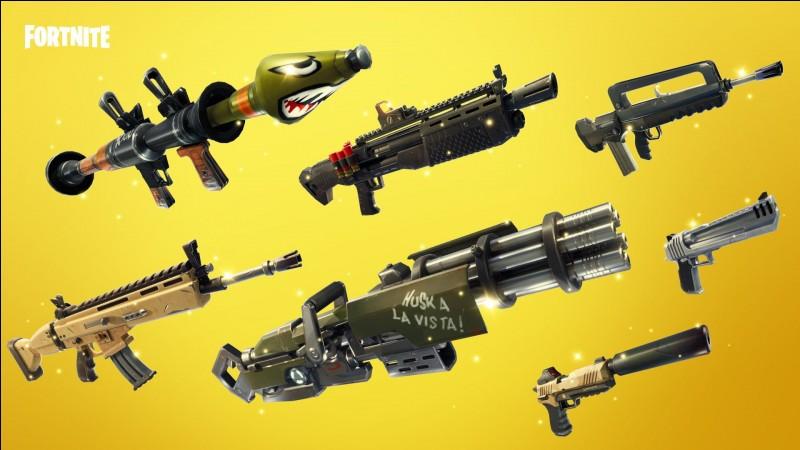 Quelle est l'arme la plus puissante du jeu ?