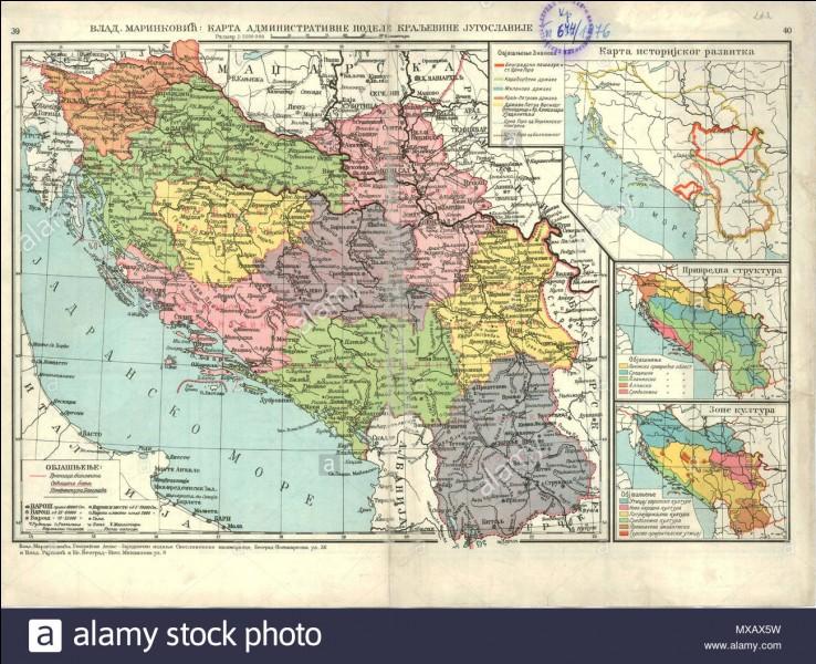 Quel était le pays formant une confédération d'États dans les Balkans après la Première Guerre mondiale ?