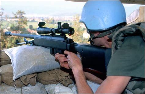 Comment s'appelait la mission des casques bleus intervenus sur le lieu de conflit ?