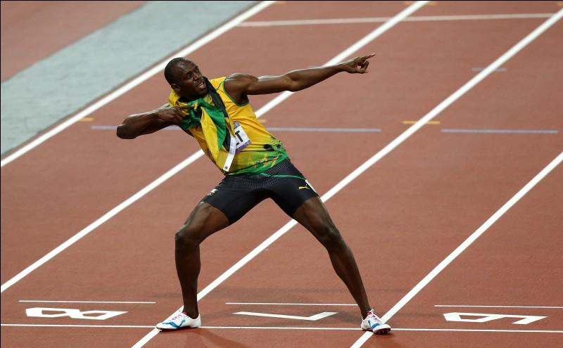 Sport : En combien de temps, Usain Bolt, a-t-il battu le record du monde du 100 mètres ?