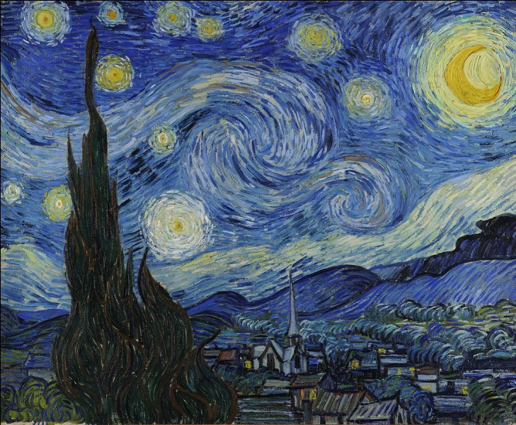 """Art : Qui a peint """"La Nuit étoilée"""" ?"""