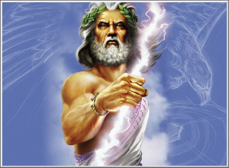 Mythologie : À quel dieu romain Zeus correspond-il ?