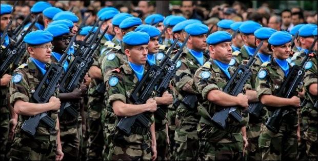 Qui intervient pour maintenir la paix ?