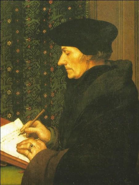 """En 1511, Érasme publie """"l'éloge de…"""""""