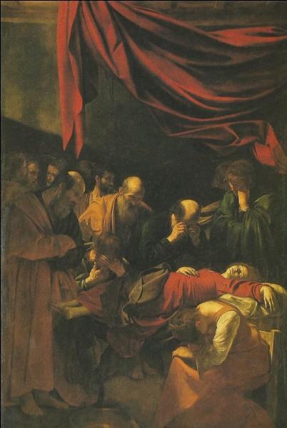 La mort de la sainte Vierge qui devait être suivie de son assomption porte le nom de...