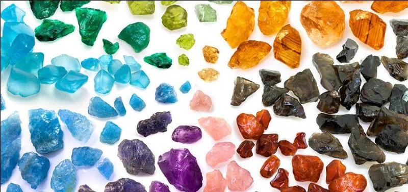 Choisis une pierre précieuse.