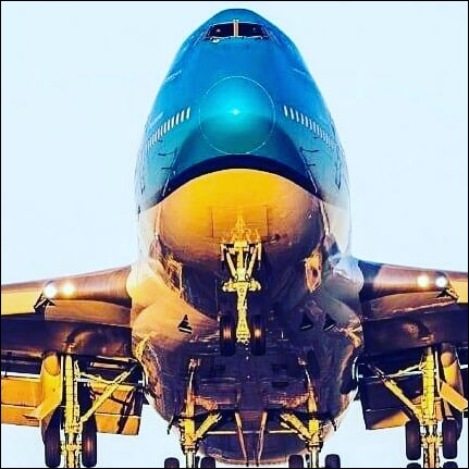 À quelle compagnie aérienne appartient cet avion ?