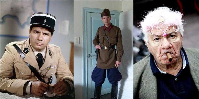 Parlons de cet acteur français qui a joué dans le film « La Guerre des boutons » d'Yves Robert (1962). Pendant cette guerre, il fait parti de ces jeunes Français requis pour le STO (Service du Travail Obligatoire) qui ont été obligés d'aller travailler en Allemagne nazie.Qui est cet acteur (souvent vu en uniforme) ?Comment finit-il cette guerre ?