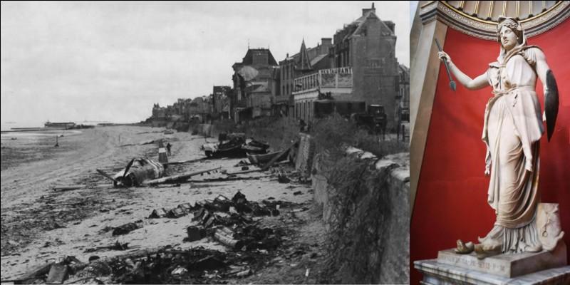 Continuons à parler du choix des noms des plages du Débarquement en Normandie. Comme on l'a vu, le nom d'une des plages fut refusé par Winston Churchill. Le lieutenant-colonel Dawney proposa un nouveau nom.Ne tombez pas dans le piège pour donner la signification du nom choisi !