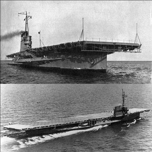 Parlons de deux navires américains le « Seeandbee » et le « Greater Buffalo ». A la base, ce sont deux navires à vapeur et à aubes utilisés sur les grands lacs Américains. L'US Navy décida de les transformer…En quoi seront-ils transformés ?
