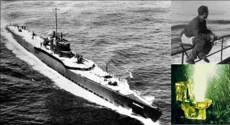 Le 14 avril 1945, les alliés crurent réussir à couler le sous-marin allemand (Uboot) U1206. En réalité, son équipage fut obligé de le saborder au large des côtes écossaises. Mais avant cela, le sous-marin fut l'objet d'un incident qui provoqua réellement sa perte.Quel est cet incident ?