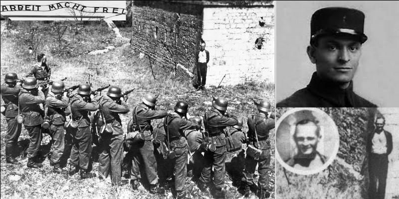 On connaît cette photo dite du « fusillé souriant ». Il s'agit du caporal infirmier Georges Blind des sapeurs-pompiers de Belfort. Il était également, forgeron. On connaît l'histoire complète (et le nom) de cette personne que depuis 1984 !Quelle a été sa véritable mort ?