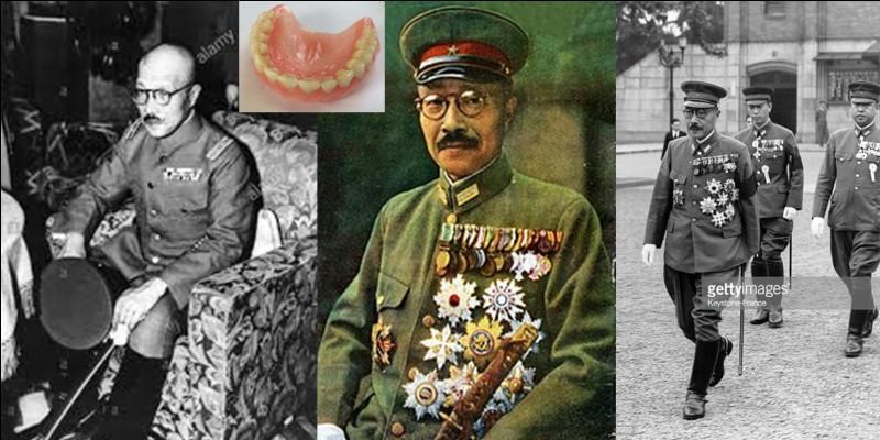 Hideki Tojo était un général de l'armée japonaise. Il sera plusieurs fois ministre et deviendra Premier ministre jusqu'en juillet 1944. Arrêté par l'armée américaine en septembre 1945, il sera jugé, condamné à mort et exécuté en 1948. Pendant la période de son procès, il subit une petite vengeance d'un médecin militaire américain.Quelle a été cette vengeance ?