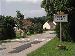 Notre balade dominicale commence en Meurthe-et-Moselle, à Barisey-la-Côte. Village à flanc de coteau, il se situe ...