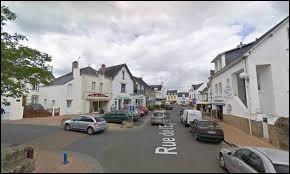 Commune mytilicole bretonne, Pénestin se situe dans le département ..