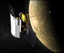 """Messenger est une sonde qui s'est posée le 30 avril 2015 sur la planète Mercure.La sonde a une masse """"m"""" d'environ 1 tonne.L'intensité de la pesanteur """"g"""" sur Mercure = 3,7 N/kg(1 tonne = 1000 kg)- Son poids """"P"""" sur Mercure est :"""