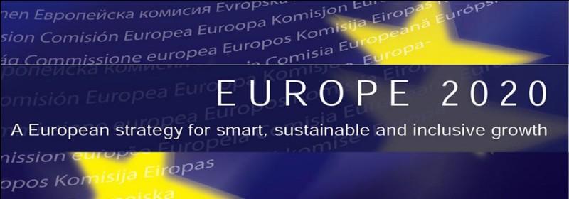 Qu'est-ce que la stratégie Europe 2020 ?
