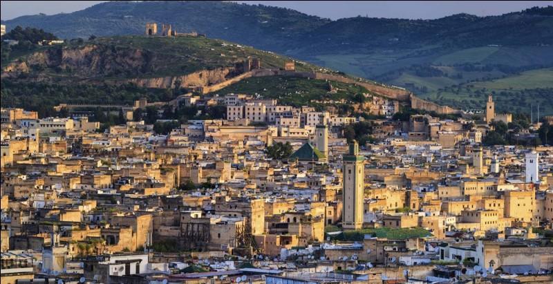 Grande ville du Maroc, célèbre pour sa médina :
