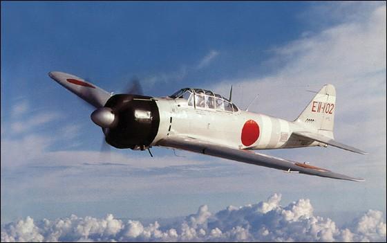 """Quel pays a utilisé l'avion de chasse surnommé """"Zéro"""" lors de la Seconde Guerre mondiale ?"""