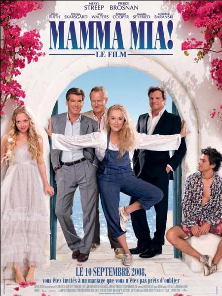 """Dans le film """"Mamma-Mia,"""" les chansons sont reprises du groupe ou du chanteur..."""