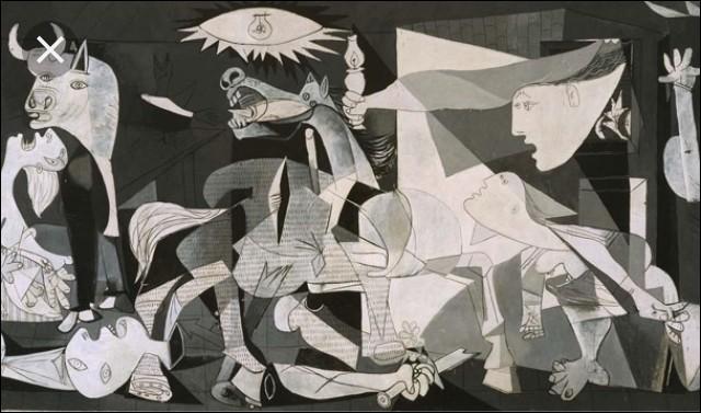 Sur le tableau que symbolise le cheval ?