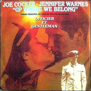 Joe Cocker a chanté ''Up Where We Belong'' en duo avec Jennifer Warnes pour le film ''Officier et Gentleman''. Quel acteur y tenait le premier rôle ?