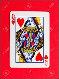 Une carte est prise au hasard dans un jeu de cartes bien mélangé. Quelle est la probabilité d'obtenir une reine rouge ?