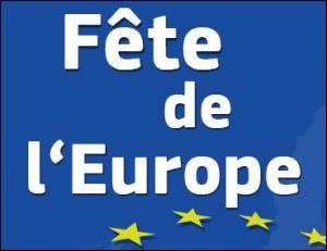 Quel est le jour de la fête de l'Europe ?