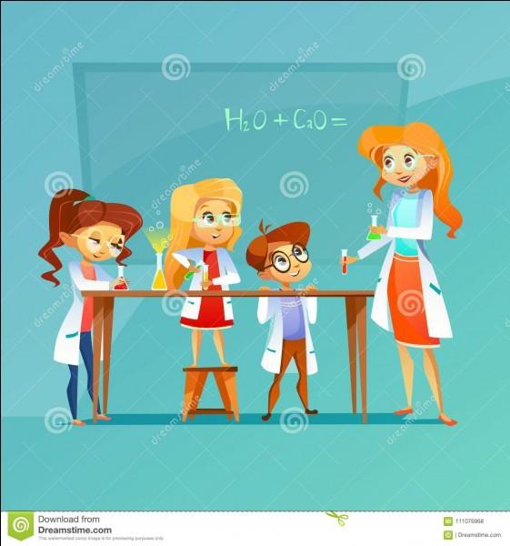 Quel composé chimique a pour formule KI ?