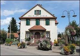 Ville Bas-Rhinoise, Ittenheim se situe en région ...