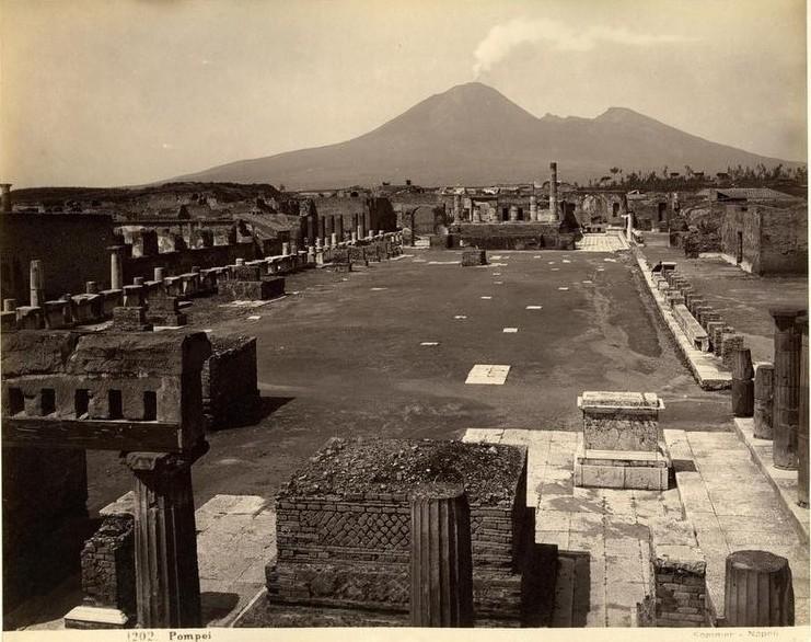 Pompéi, la ville ensevelie