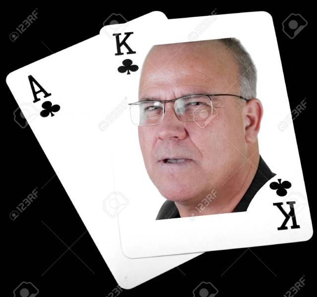 Combien y a-t-il de rois de couleur noire dans un jeu de cartes de 52 cartes ?