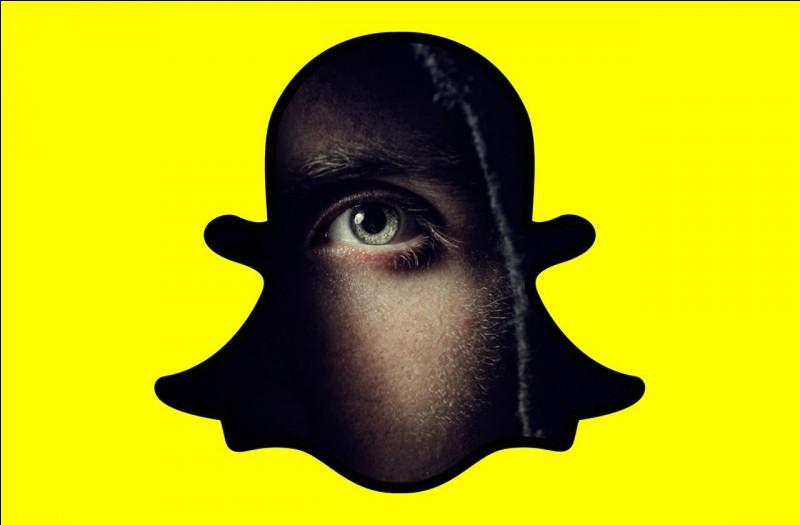 Quel est le motif de l'application Snapchat ?
