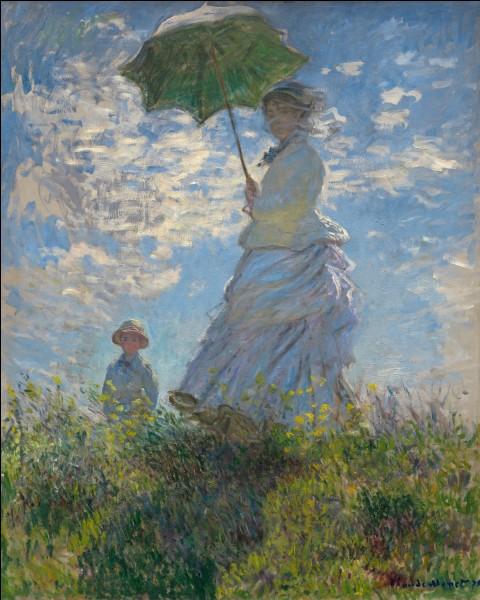 """""""La Promenade - La Femme à l'ombrelle"""" est un tableau signé..."""