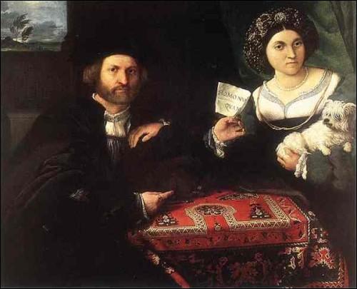 Portrait d'un couple marié (1523)