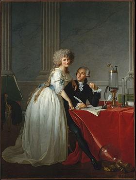 Portrait d'Antoine-Laurent Lavoisier et de sa femme (1788)