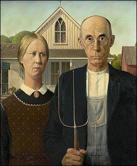 """""""Souriez, vous êtes filmés"""" ou American Gothic (1930)"""