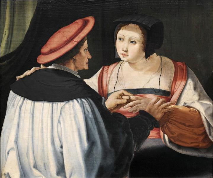 Les fiancés vers 1525